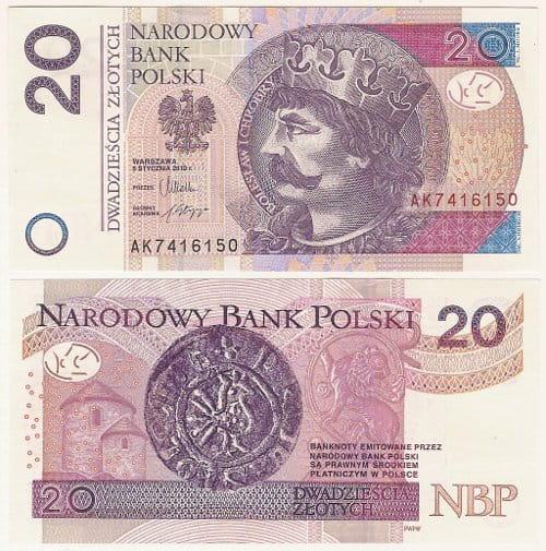 Banknot 20 złotych