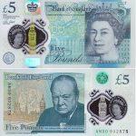 Banknot 5 funtów (GBP)